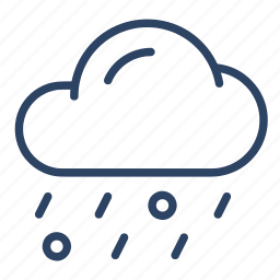 climate, cloudy, forecast, hail, ice, rain, weather icon