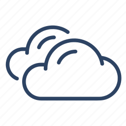 climate, clouds, cloudy, forecast, overcast, weather icon