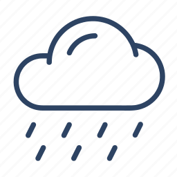 climate, cloud, forecast, rain, shower, weather icon