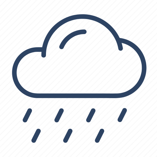 Climate, rain, forecast, shower, weather, cloud icon