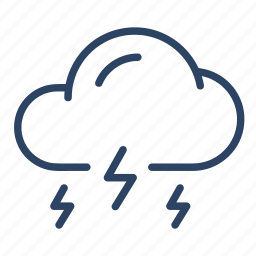climate, cloud, forecast, storm, weather icon