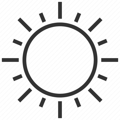 forecast, information, sign, sun, weather icon
