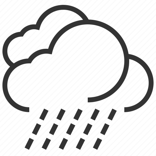 cloud, forecast, information, rain, sign, weather icon