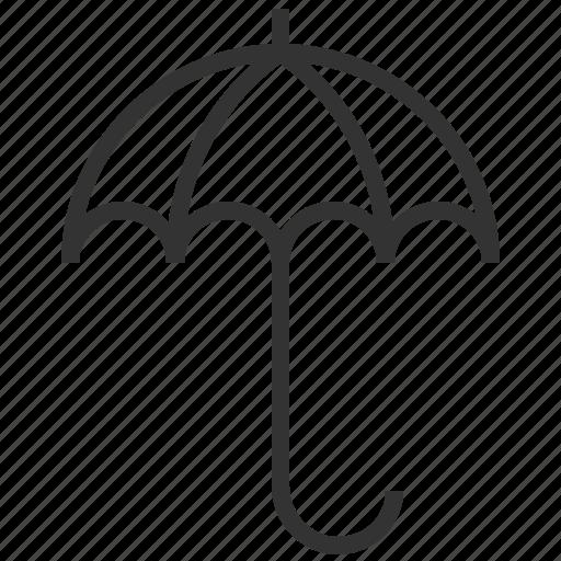 forecast, information, sign, umbrella, weather icon