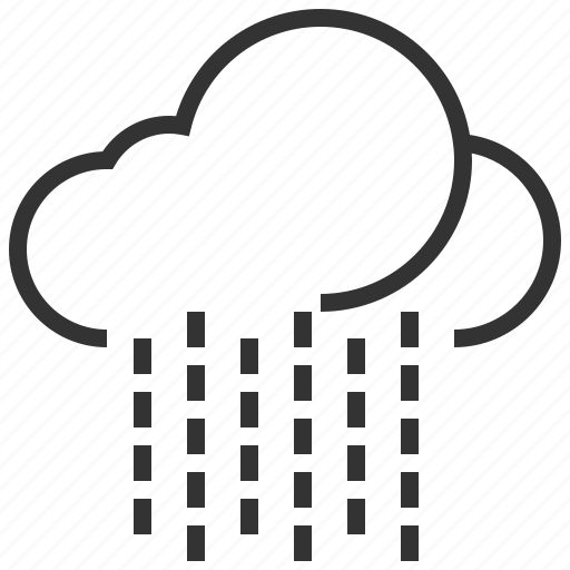 cloud, cloudy, forecast, information, rain, sign, weather icon
