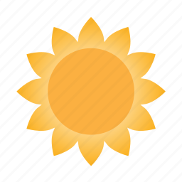forecast, heat, hot, sun, sunny, weather icon