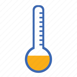 cold, cool, forecast, sun, sunny, temperature, thermometer, weather icon