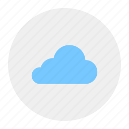 cloud, clouded, clouds, cloudy icon