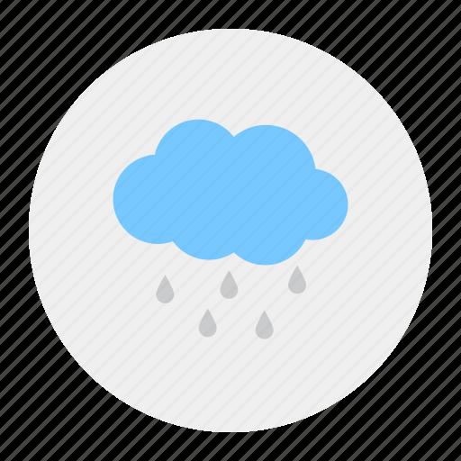 cloudy, rain, rainfall, rainfalls icon