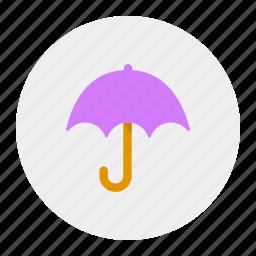 love, monsoon, rain, umbrella icon