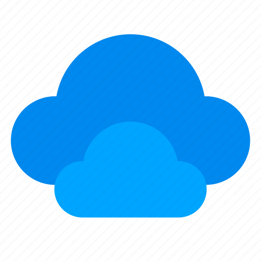 climate, clouds, overcast, weather icon