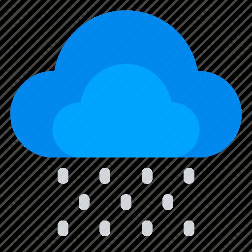 climate, cloud, rain, weather icon