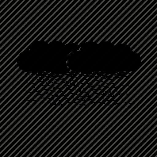 climate, cloud, fog, rain, weather icon