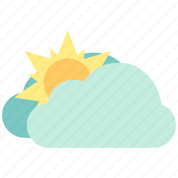 air, atmosphere, bright, fine, sky, sunny, weather icon
