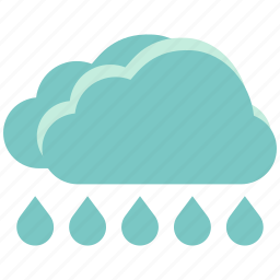 air, atmosphere, downpour, heavy rain, sky, torrents, weather icon