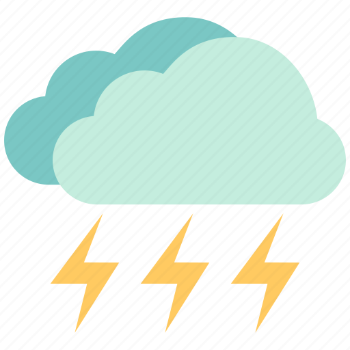 air, atmosphere, levin, sky, strom, thunder clap, weather icon