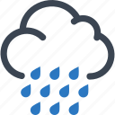 autumn, cloud, rain, rainy day icon