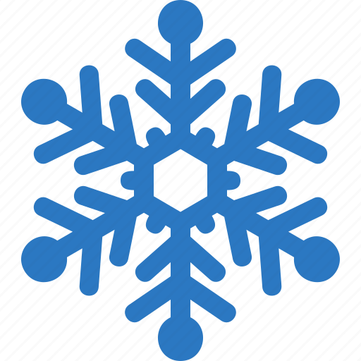 cold freeze snowflake winter icon