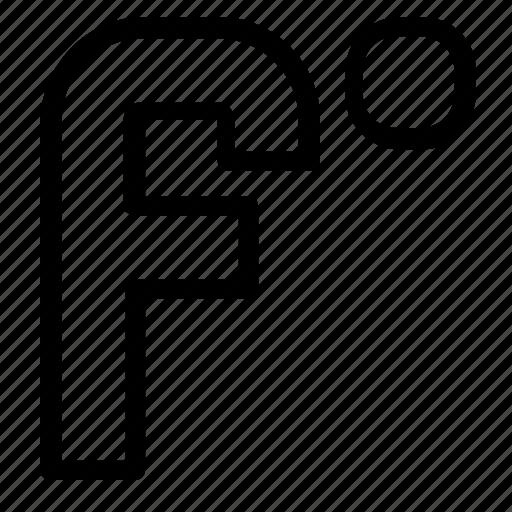 degree, fahrenheit, temperature icon