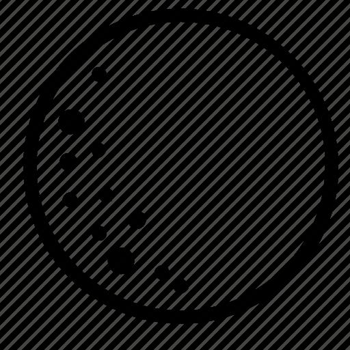 forecast, full, moon, phase icon