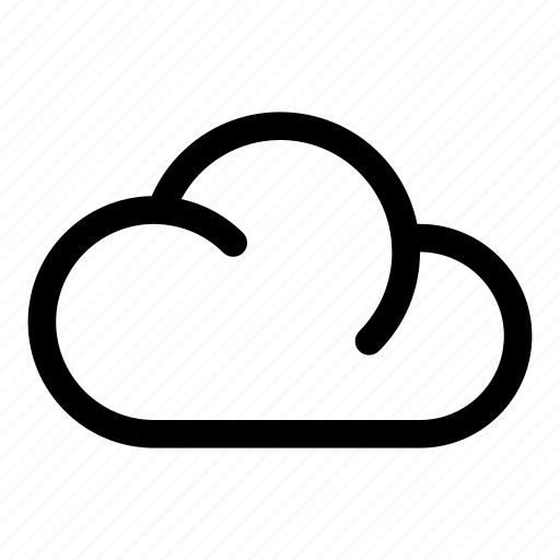 cloud, cloudy, forecast, storage, weather icon