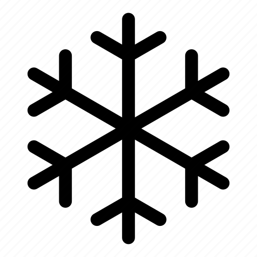 cold, frozen, snowflake, weather, winter icon