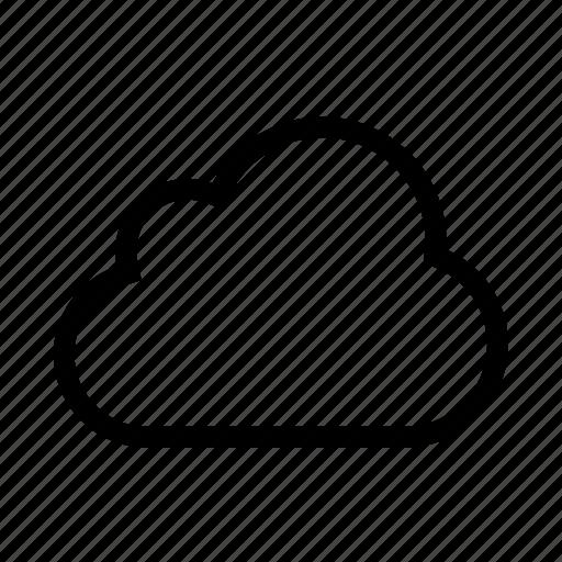 cloud, computing, network, storage, weather icon