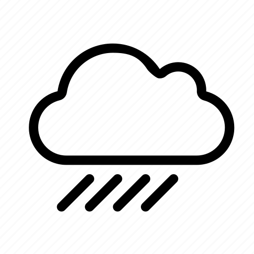 computing, heavy, rain, storage, weather icon