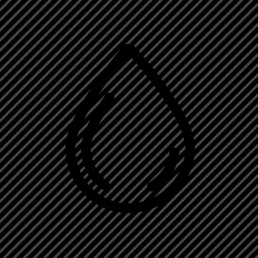 Drop, liquid, rain, water icon - Download on Iconfinder