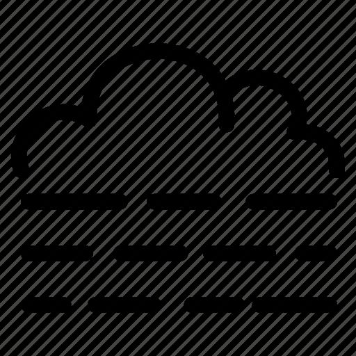 brume, climate, fog, forecast, mist, prediction icon