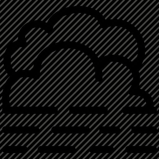 climate, cloud, fog, foggy, overcast, prediction icon