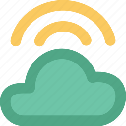 atmosphere, cloud, cloud waves, waves, weather icon