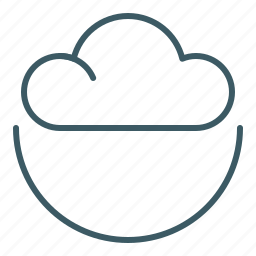 cloud, sky, weather icon