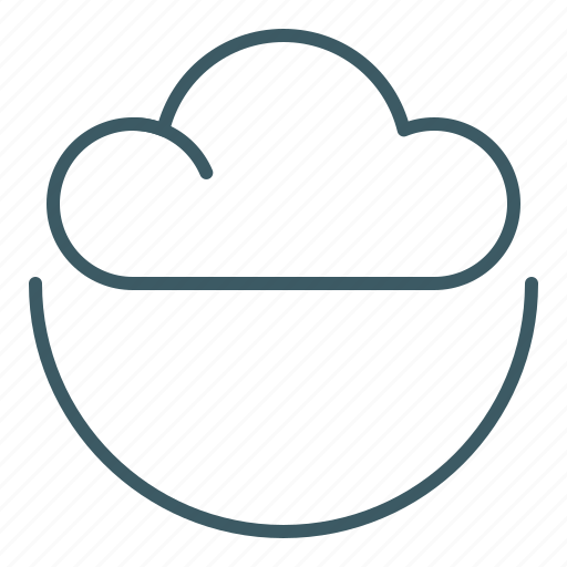 Cloud, sky, weather icon - Download on Iconfinder