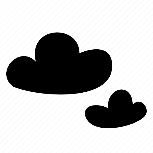 cloud, cloudy, overcast, storage, weather icon