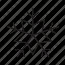cold, flake, forecast, powder, snow, weather, winter icon