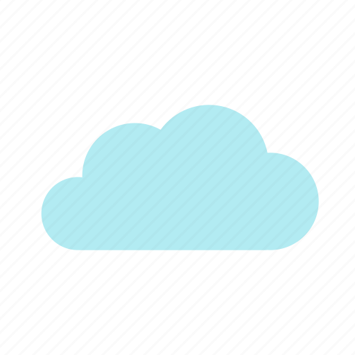 cloud, cloudy, forecast, sky, skyless, weather icon