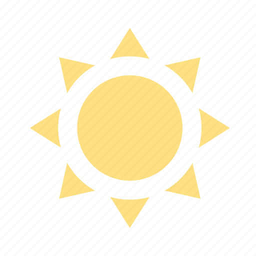 clear sky, forecast, hot, sun, sunny, sunshine, weather icon