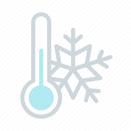 cold, forecast, freeze, low temperature, snow, weather, winter icon