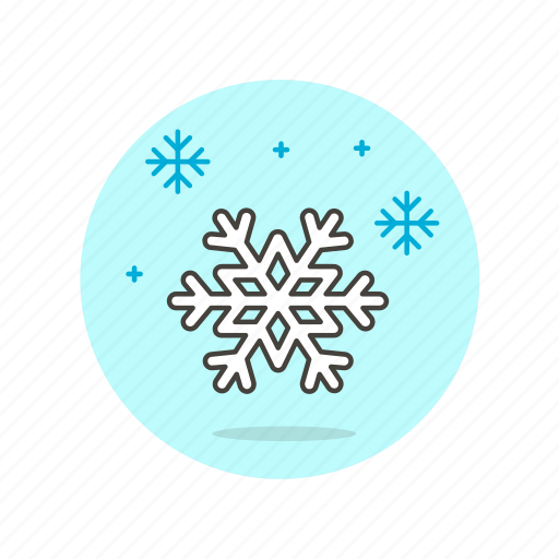 blizzard, cold, snow, snowflake, weather, white, winter icon