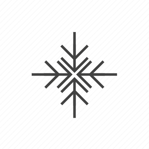 cold, flake, forecast, frozen, snow, weather, winter icon