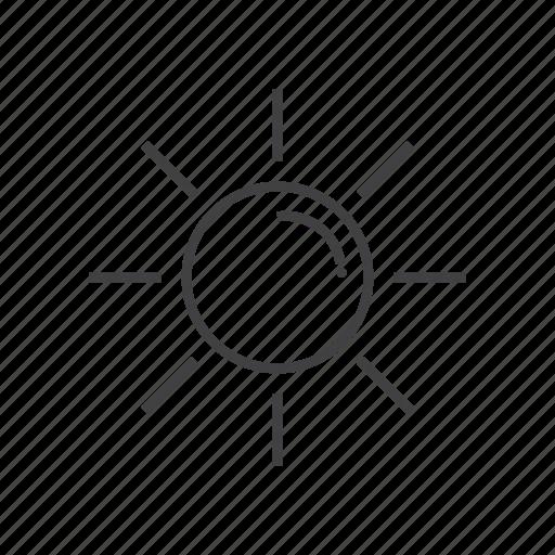 cloudy, night, set, sun, sunny, weather icon