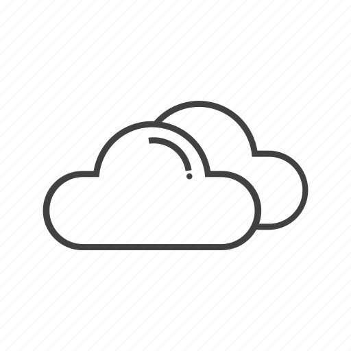 cloud, cloudy, design, set, weather icon