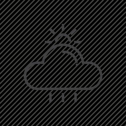 celcius, rain, temperature, weather icon