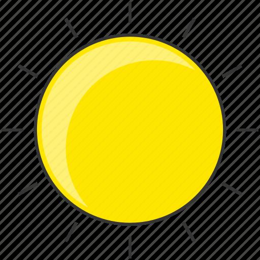day, forecast, morning, nautre, sun, sunny icon