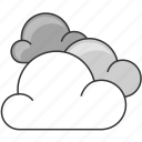 cloud, cloudy, forecast, nature icon