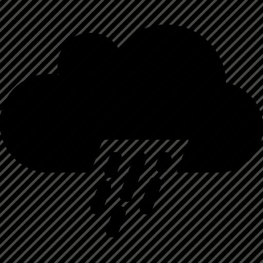 cloudy, rain, sprinkle, storm icon