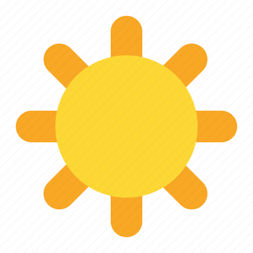 bright, day, sun, weather icon