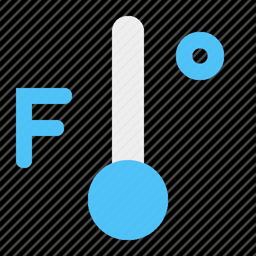 cold, fahreinheit, temperature, weather icon