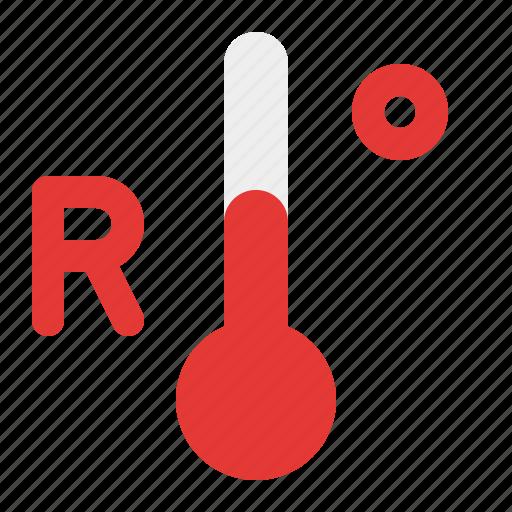 reamur, temperature, warm, weather icon